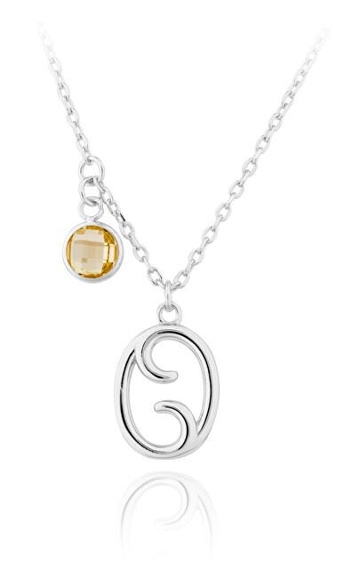 JVD Strieborný náhrdelník s príveskom Rak SVLN0135X6100RA