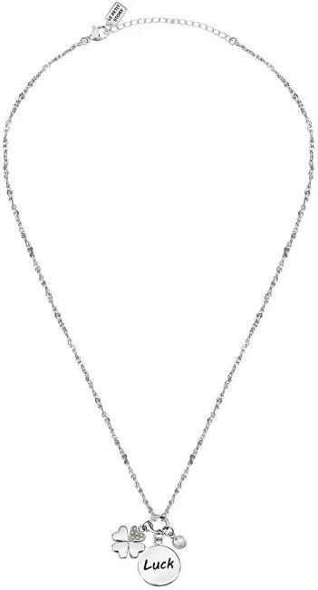 La Petite Story Dámsky oceľový náhrdelník s príveskami pre šťastie Friendship LPS05ARR63