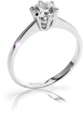 Modesi Krásny zásnubný prsteň QJR1565L 56 mm