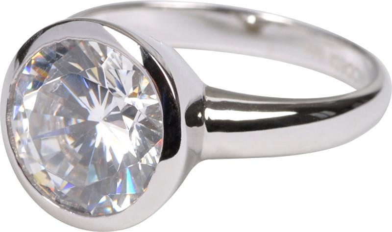 Modesi Pôvabný strieborný prsteň QJRY4034L 56 mm