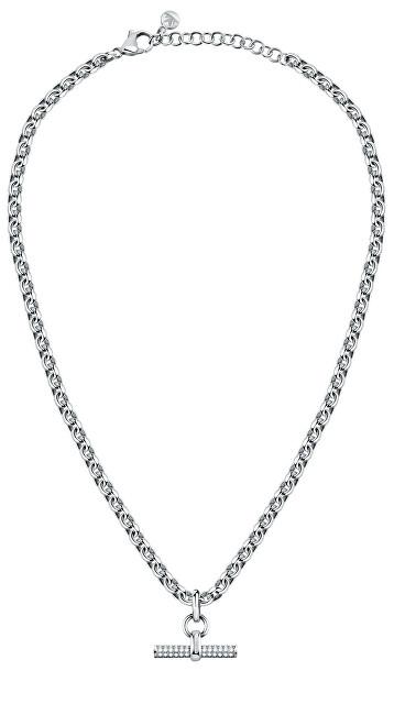 Morellato Dámsky oceľový náhrdelník s kryštálmi Abbraccio SAUC11