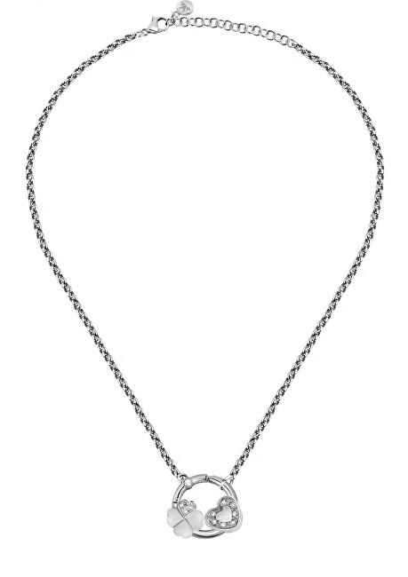 Morellato Elegantný oceľový náhrdelník pre šťastie Drops SCZ1179