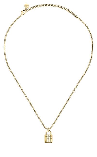 Morellato Luxusné pozlátený náhrdelník z ocele Abbraccio SAUB14