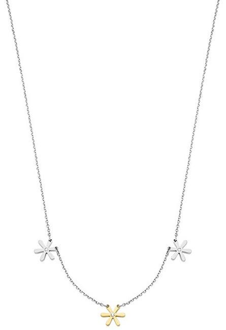 Morellato Oceľový bicolor náhrdelník Tenerezze SAGZ02