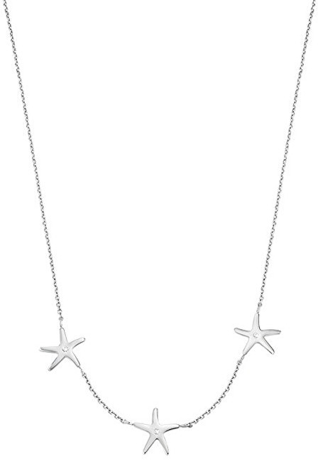 Morellato Oceľový náhrdelník s morskými hviezdicami Tenerezze SAGZ04