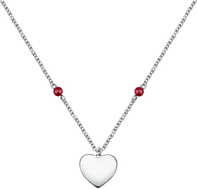 Morellato Oceľový náhrdelník Srdce Valentina SATQ10
