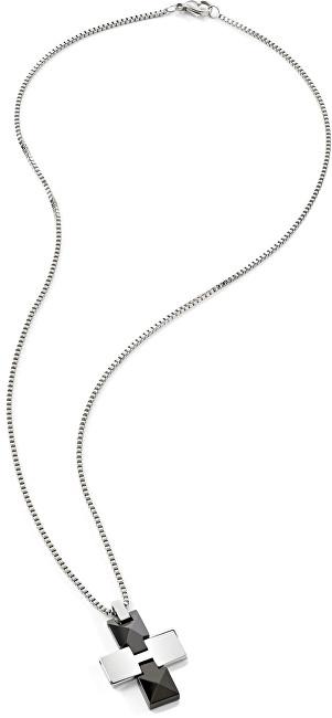 Morellato Pánsky oceľový náhrdelník Ceramic SACU01