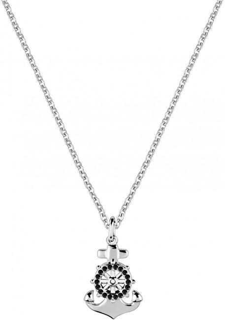 Morellato Pánsky oceľový náhrdelník s kotvou Vela SAHC09 (retiazka, prívesok)