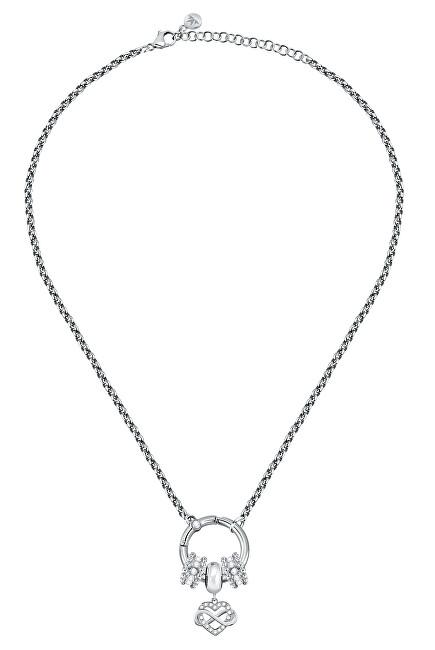 Morellato Romantický oceľový náhrdelník Drops SCZ1180