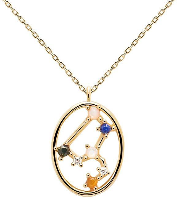 PDPAOLA Originálne pozlátený náhrdelník Lev LEO CO01-348-U (retiazka, prívesok)