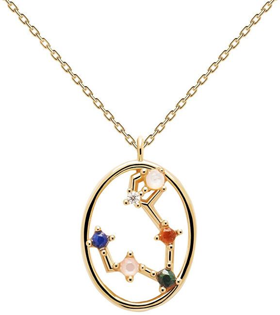 PDPAOLA Originálne pozlátený náhrdelník Ryby Pisces CO01-343-U (retiazka, prívesok)