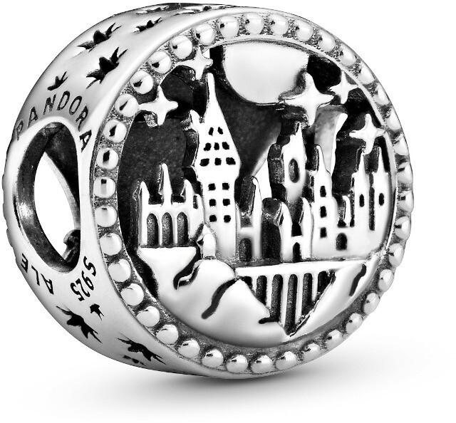 Pandora Strieborný korálik Harry Potter Rokfort 798622C00