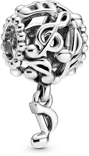 Pandora Strieborný prívesok Dierované noty 798779C00