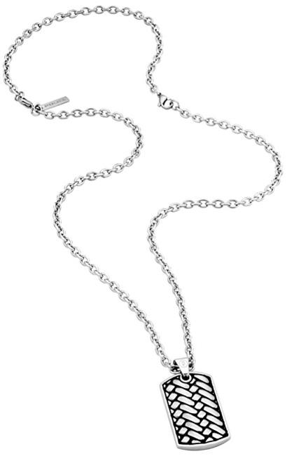 Police Pánsky náhrdelník Double Impact PJ26178PSS / 02