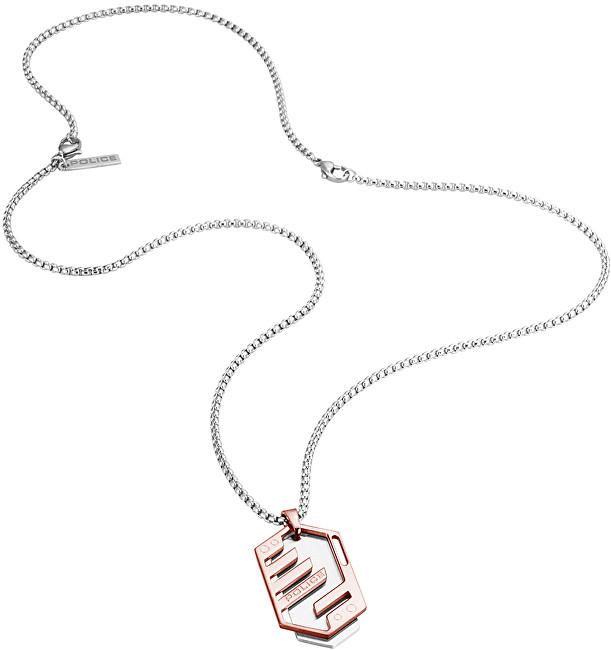 Police Pánsky náhrdelník Newton PJ26285PSSRG / 03