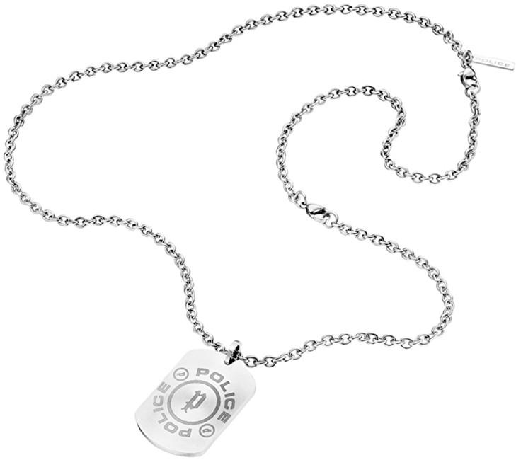 Police Pánsky náhrdelník Plate PJ25879PSS / 01