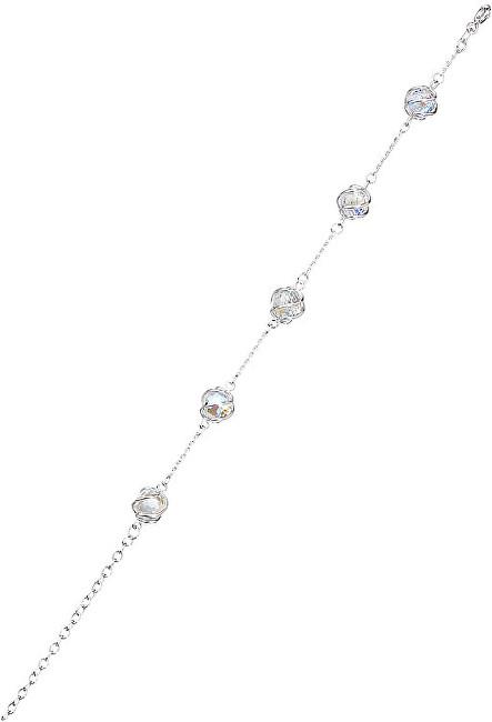 Preciosa Náramek Romantic Beads Crystal AB 6717 42