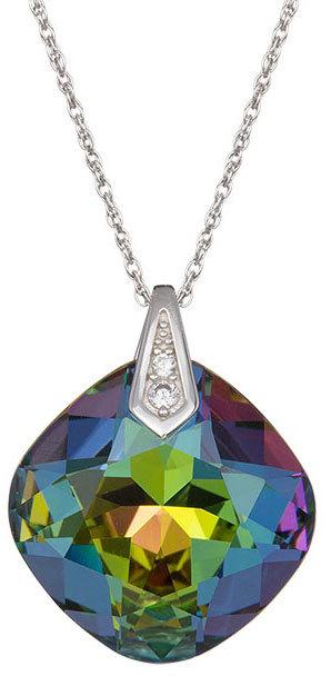 Preciosa Náhrdelník Brilliant Rose s krystalem Vitrail Medium 6011 41 (řetízek, přívěsek)