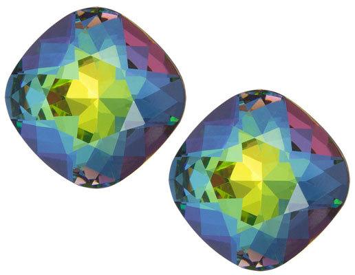 Preciosa Náušnice Brilliant Rose s krystalem Vitrail Medium 6012 41