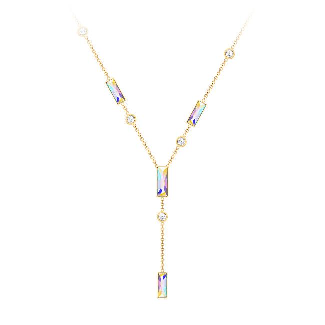 Preciosa Třpytivý náhrdelník s křišťálem Gonia 7385Y42