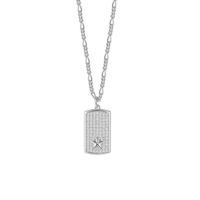 Rosato Strieborný náhrdelník s príveskom Futura RZFU03