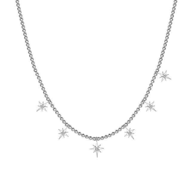 Rosato Strieborný náhrdelník s príveskami Storie RZC035