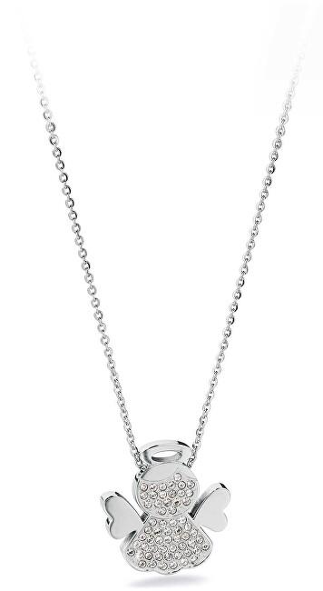 S`Agapõ Oceľový náhrdelník Angels SNG05