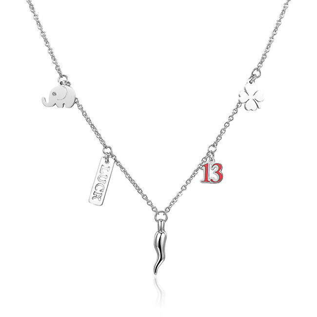 S`Agapõ Oceľový náhrdelník Get Lucky SGY01
