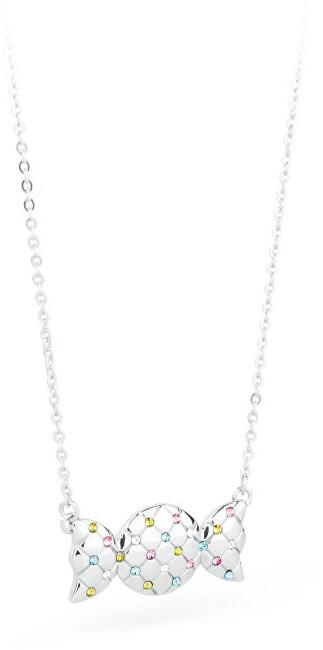S`Agapõ Oceľový náhrdelník s cukríkom Sweet SWE02