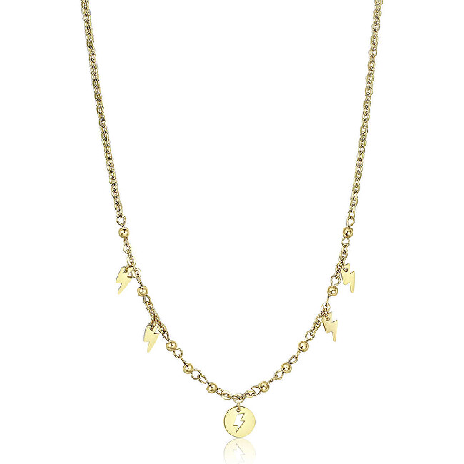 S`Agapõ Oceľový náhrdelník s ozdobami Haiti SHT06