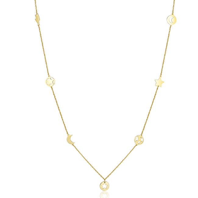 S`Agapõ Oceľový náhrdelník s ozdobami Hidden SHD02