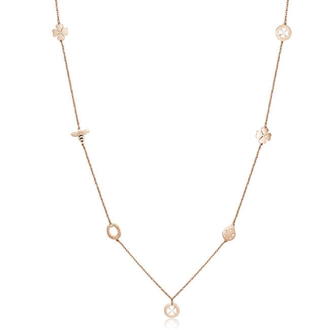 S`Agapõ Oceľový náhrdelník s ozdobami Hidden SHD03