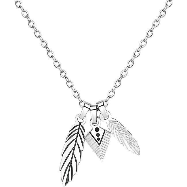 S`Agapõ Pánsky náhrdelník s pierkami India SIN05
