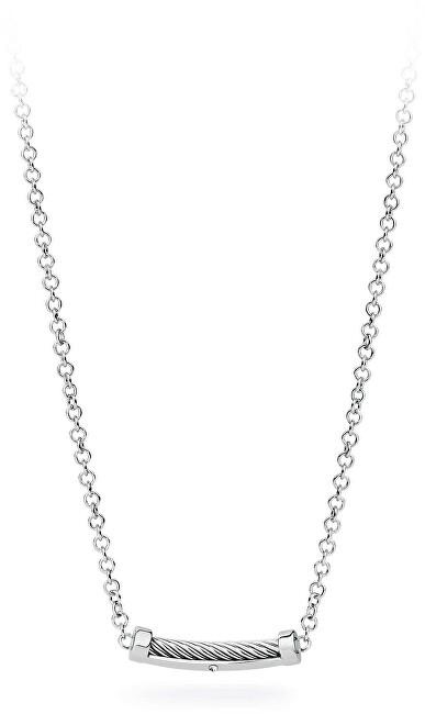 S`Agapõ Pánsky oceľový náhrdelník Pole SPO01