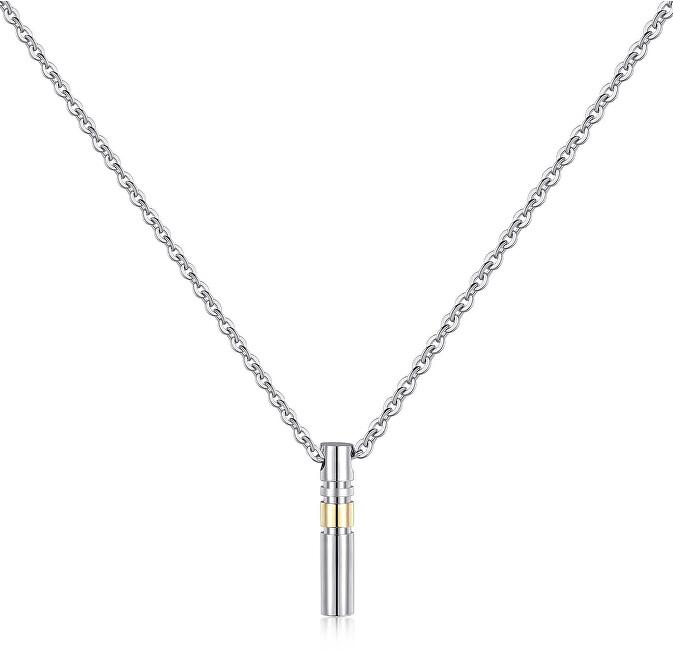 S`Agapõ Pánsky oceľový náhrdelník Totem STO01