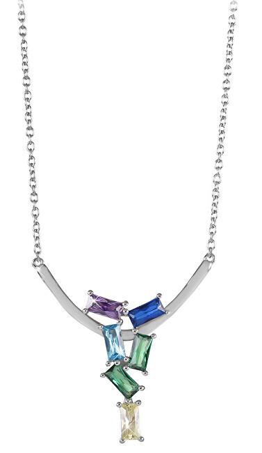 Silver Cat Módny náhrdelník so zirkónmi SC352