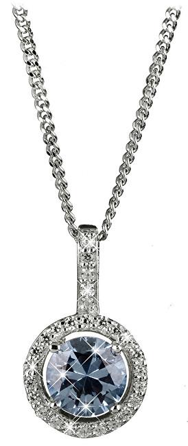 Silver Cat Očarujúce náhrdelník s kryštálmi SC294 (retiazka, prívesok)