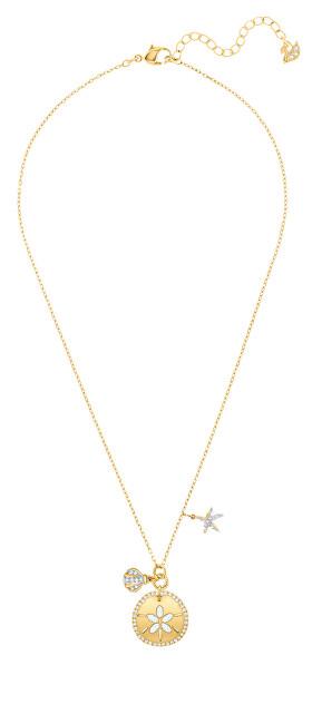 Levně Swarovski Elegantní dámský náhrdelník s krystaly Swarovski Dazzling 5492274