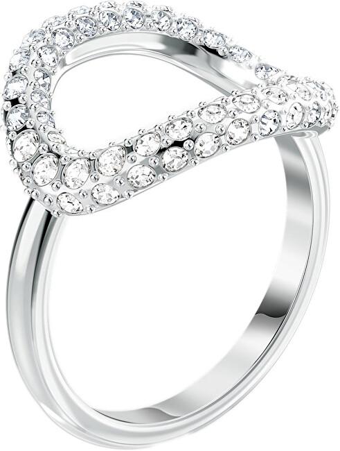 Swarovski Luxusné trblietavý prsteň THE ELEMENTS 5572875 58 mm