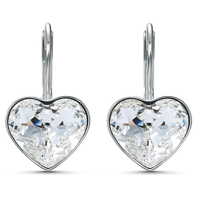 Swarovski Trblietavé náušnice Bella Heart 5515191, 5537903