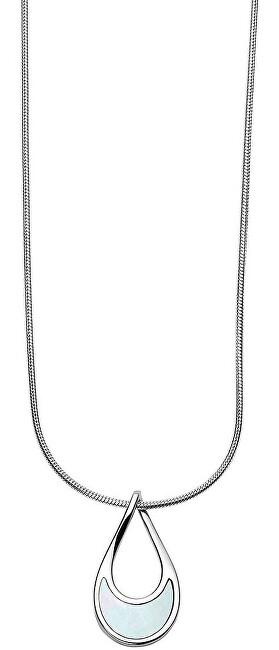 Skagen Dámsky oceľový náhrdelník s perleťou SKJ1360040