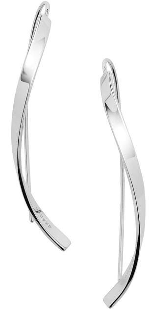 Skagen Elegantné oceľové náušnice SKJ1199040