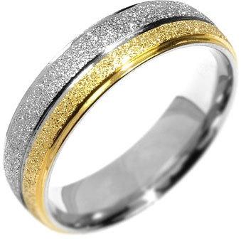 Silvego Snubní ocelový prsten Flers RRC0365 52 mm