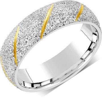 Silvego Snubný prsteň pre mužov aj ženy z ocele RRC22799 49 mm