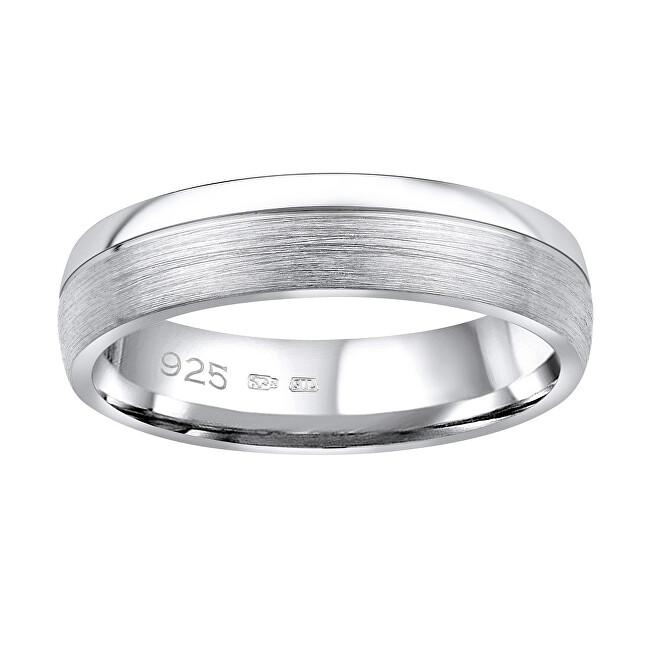 Silvego Snubný strieborný prsteň Paradise pre mužov aj ženy QRGN23M 51 mm