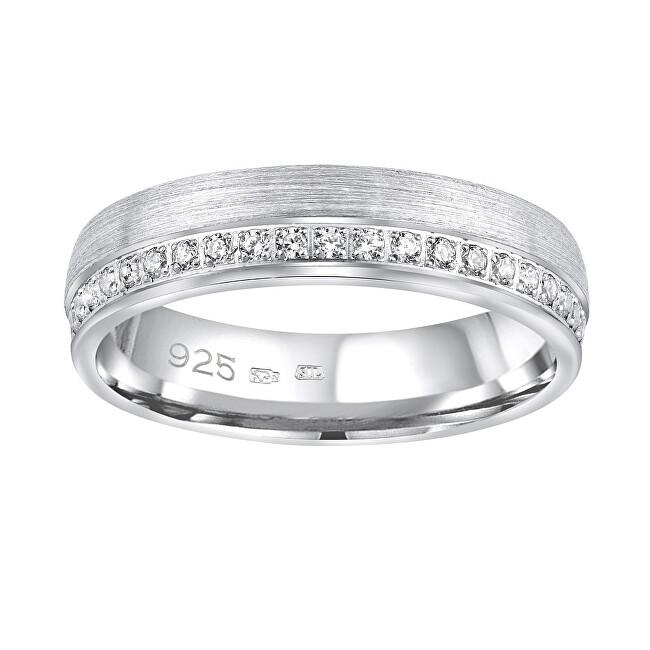 Silvego Snubný strieborný prsteň Paradise pre ženy QRGN23W 47 mm