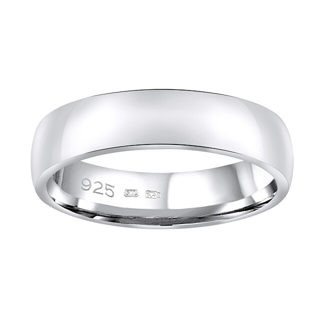 Silvego Snubný strieborný prsteň Poesia pre mužov aj ženy QRG4104M 47 mm