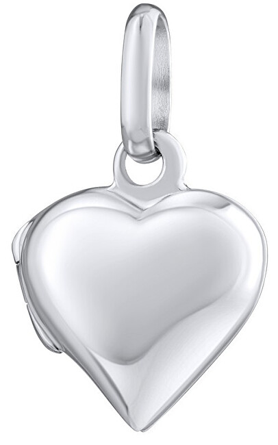Silvego Stříbrný medailonek Srdce PRM10236
