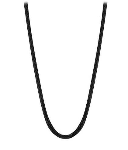MUMMY BELL Lanko z černé kůže - 76 cm R1CK