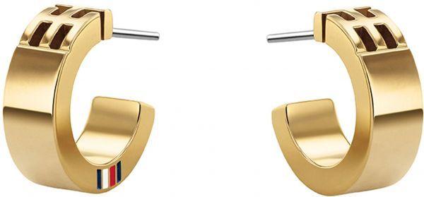 Tommy Hilfiger Fashion pozlátené náušnice kruhy TH2780418